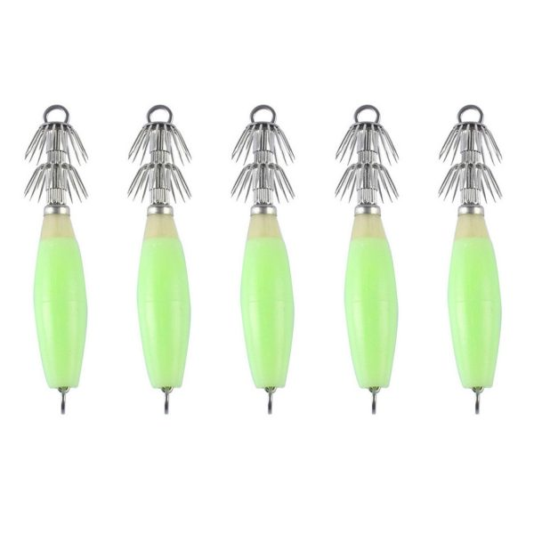 Squid Jig Set (With or Without Line) 3